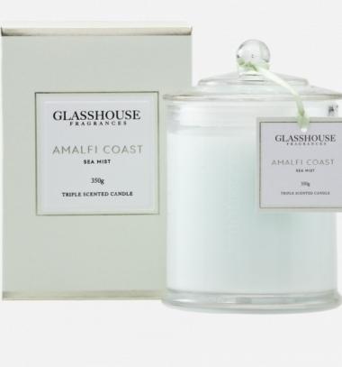 Glasshouse Amalfi Coast 350g Candle