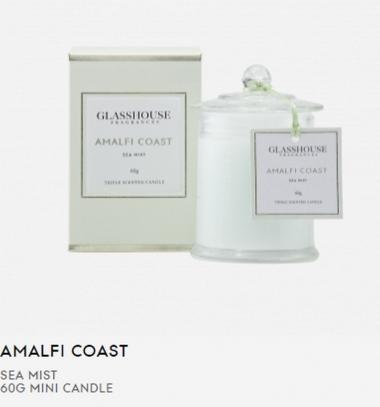 Glasshouse Amalfi Coast 60g Mini Candle