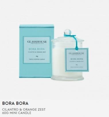 Glasshouse Bora Bora 60g Mini Candle