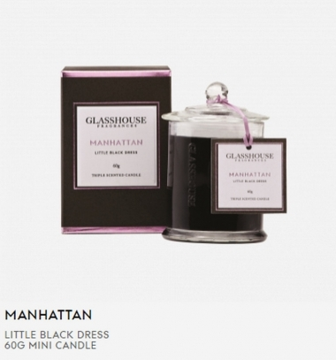 Glasshouse Manhattan 60g Mini Candle