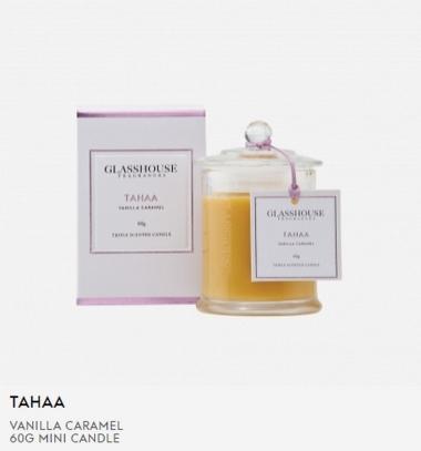 Glasshouse Tahaa 60g Mini Candle
